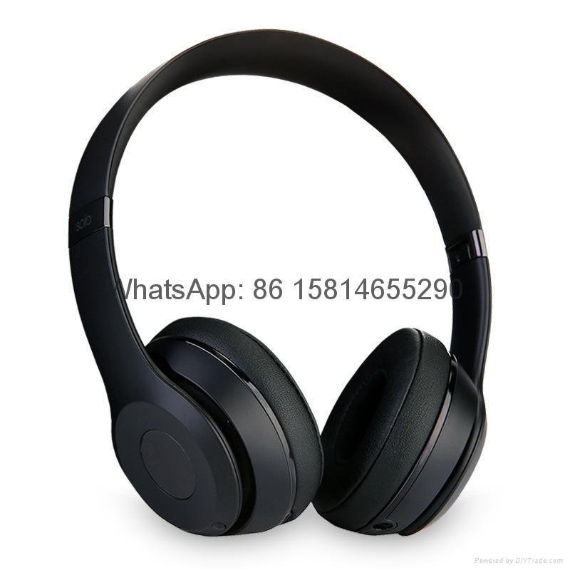 Wholesale best quality Good price logo wireless bluetooth headphones earphones  17