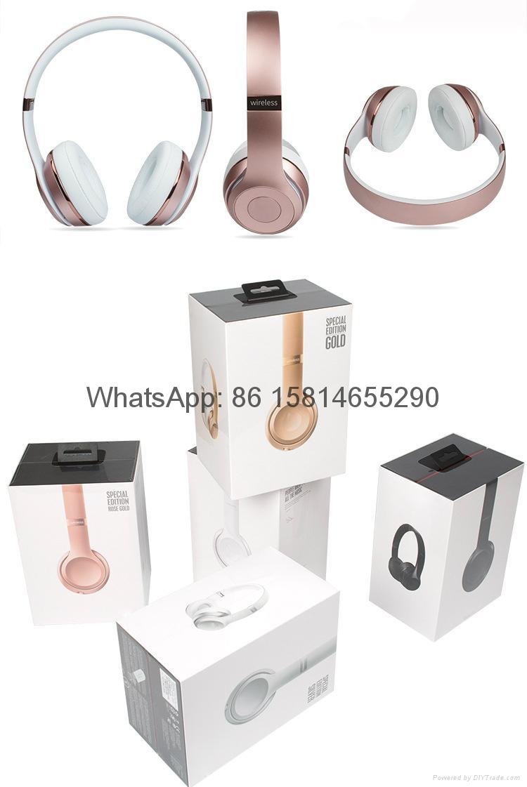 Wholesale best quality Good price logo wireless bluetooth headphones earphones  1