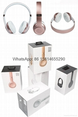 Wholesale best quality Good price logo wireless bluetooth headphones earphones