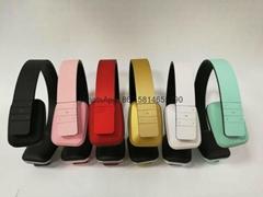 Hot selling QC55 wireless bluetooth headphone Breathing heat dissipation headset