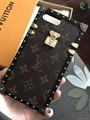 Wholesale Hot selling metal fashion LV case covers for Iphone 7/7 plus 6 6plus