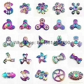 New arrive Pure copper Dazzle colour hand spinner Fidget Spinners