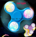 Hot selling LED  Hand Spinner in Retail Box Toy Hand Spinner