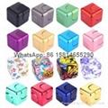 Rubik gyro zinc alloy Rubik hand spinner Fidget Spinners