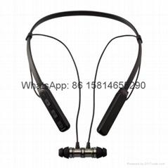 New product wireless bluetooth 4.1 qc70 earphone earbuds  headphone