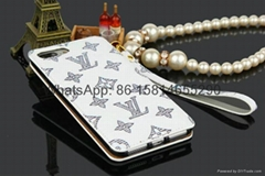 First Turn up and down leather cover lv case for iphone case