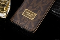 Hot selling new iphone 8 leather case mk MICHAEL KORS iphone 8 case