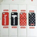 supreme & LV with card phone case for iphone 8 8plus 7 7plus 6 6plus iphone X