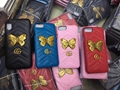 New hotting Gucc butterfly cover case for iphone x iphone8 8plus iphone7 7plus 6