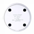Qi Wireless Charger 10W Wireless Charger for iPhone 8/X  Samsung note 8 s8 s7 11