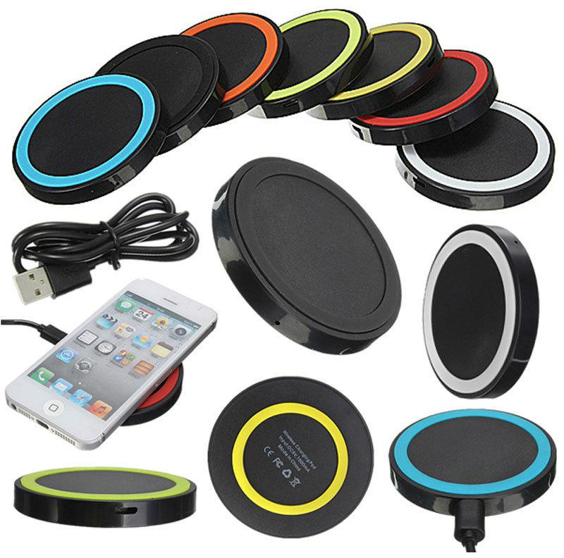 Qi Wireless Charger USB Charge Pad For iPhone X 8 Plus Samsung Galaxy S8 Plus S6 1