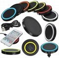 Qi Wireless Charger USB Charge Pad For
