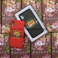 New colors GUCC Website synchronous cover case for iphone X  8 8plus 7
