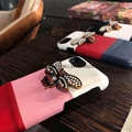2018 New leather Gucc case bees case for iphone 6 6plus 7 7plus 8 8plus iphone X