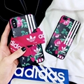 Luxury brands adidas Gucc phone case for iphone X 8 8plus 7 7plus 6 6plus