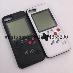 Game boy Tetris Phone Cases Play Game Cover Case for iphone x 8 8plus 7 7plus 6