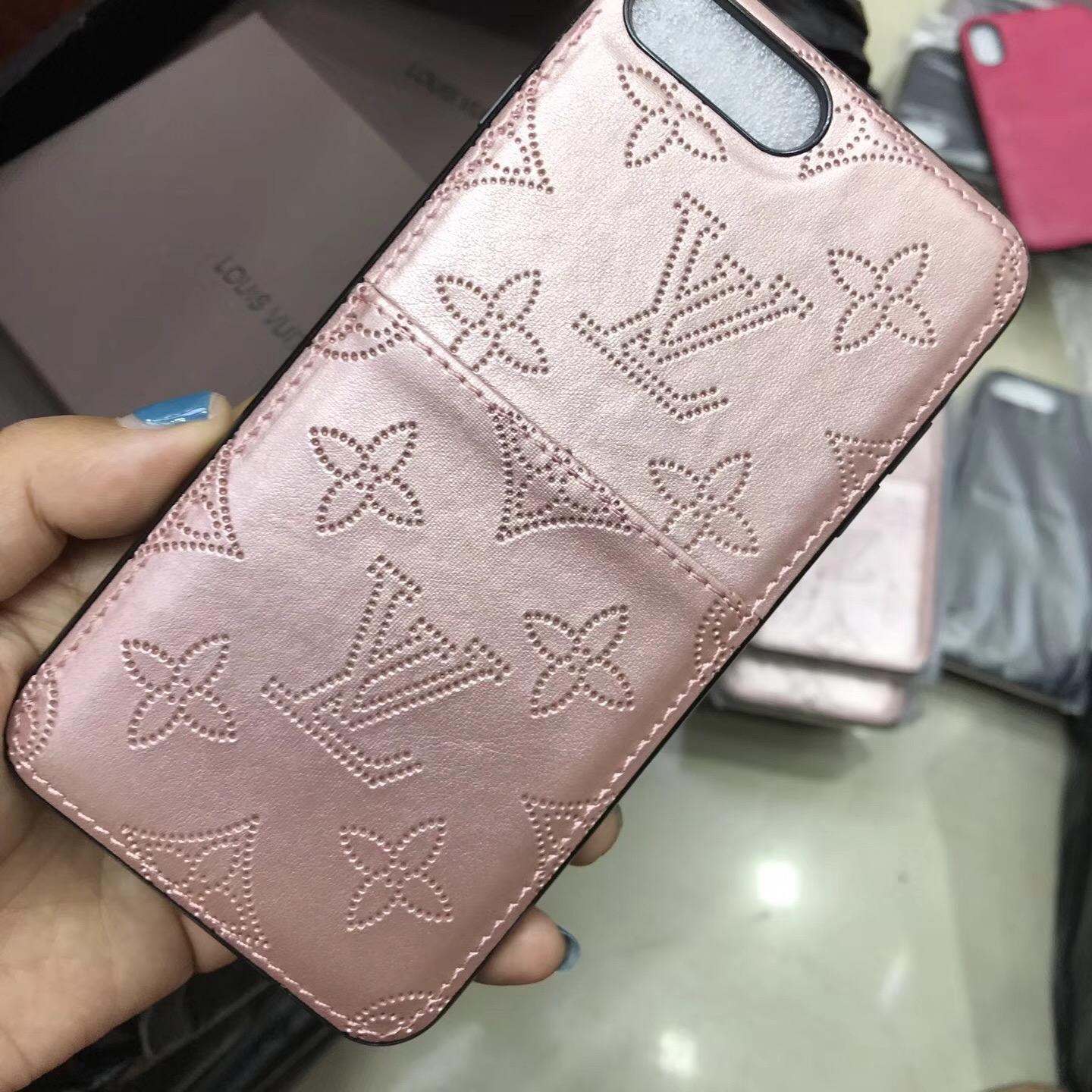 Luxury brand    case with card for iphone X 8 8plus 7 7plus 6 6plus  2