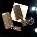 Brand LOUIS VUITTON LV leather phone case for iphone X 8 8plus 7 7plus 6 6plus