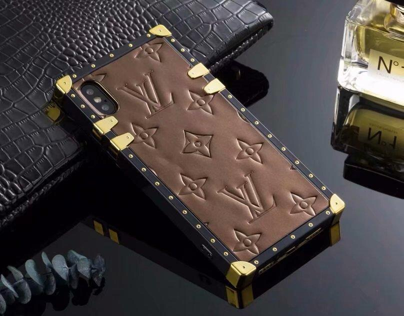 New LOUIS VUITTON LV leather case for iphone X XS XS MAX