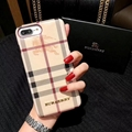 New Burberry WIth logo case for iphone xs xs max x xr  iphone 8 8 plus 7 7plus