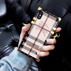 New Burberry case for iphone xs xs max x xr  iphone 8 8 plus 7 7plus