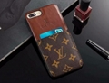 LV phone case with card bag for iphone xs xs max x xr  iphone 8 8 plus 7 7plus