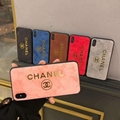6 color gucci gold stamping case for iphone X XS XS max XR iphone 10 8 8plus 7