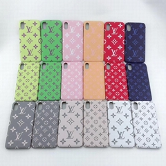 New color full LV phone case for iphone xs max xr x 8 8plus 7 7plus 6 samsung