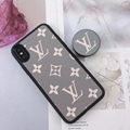 LV case with holder for iphone xs max xr x 11 pro max 7 8plus samsung note 10+ s