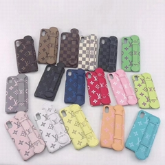 LV case with belt for iphone 11 xs max xr x 7 8 8plus samsung s10+ s10 s9+ note9
