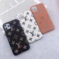 Luxury phone case    Leopard grain case