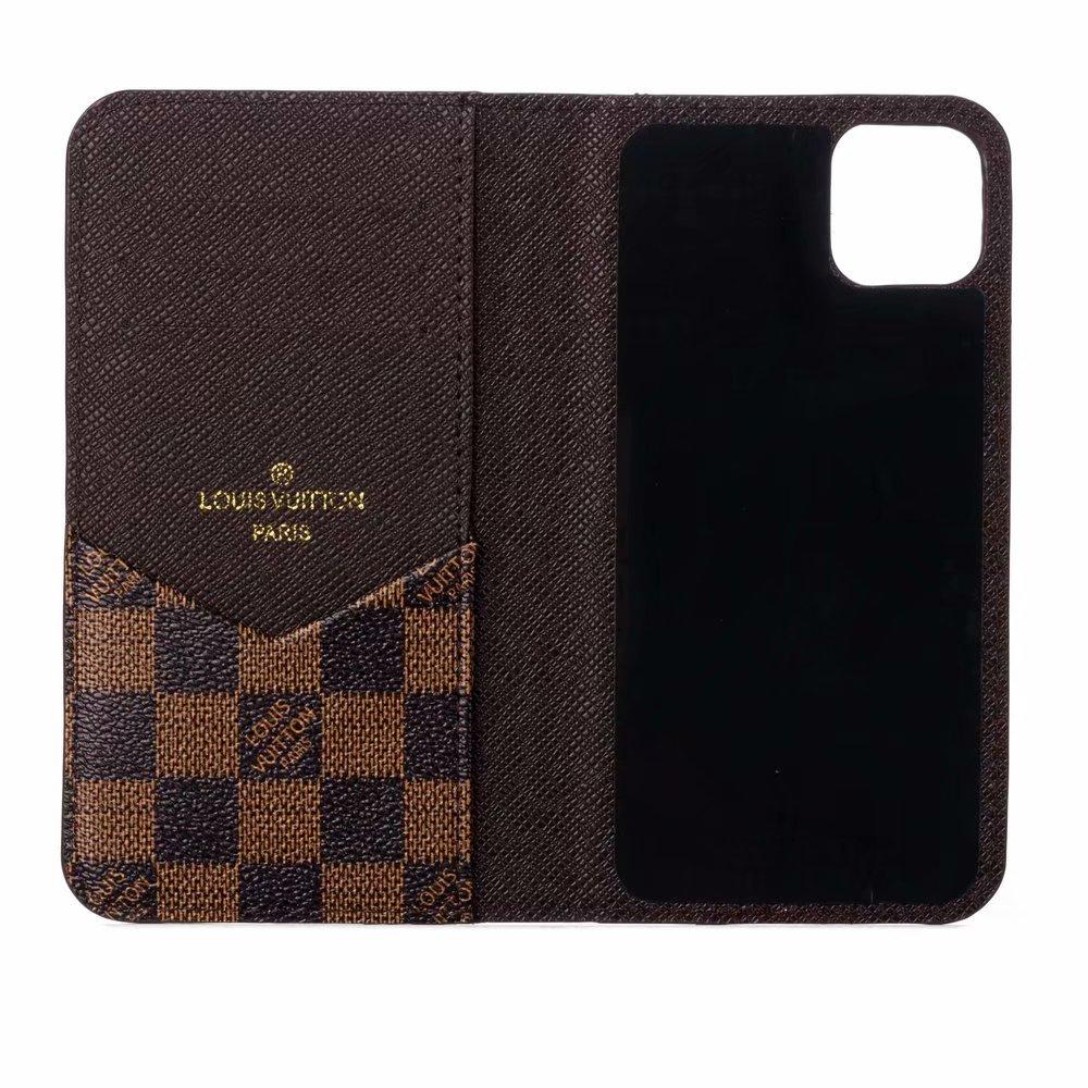 Luxury brand phone case    leather case for new iphone 11 pro max xs max 7 8plus 2