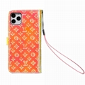Luxury brand phone case LV leather case for iphone 11 pro max xs max 7 8plus