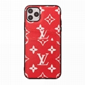 LV leather case with card bag for iphone 11 pro max xs max xr x 7 8plus samsung