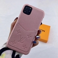 leather case with card bag for iphone 11 pro max xs max xr x 7 8plus samsung 15