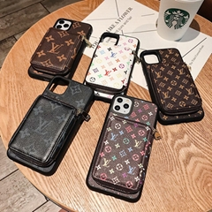 leather case with bag for iphone 11 pro max xs max xr x 7 8plus