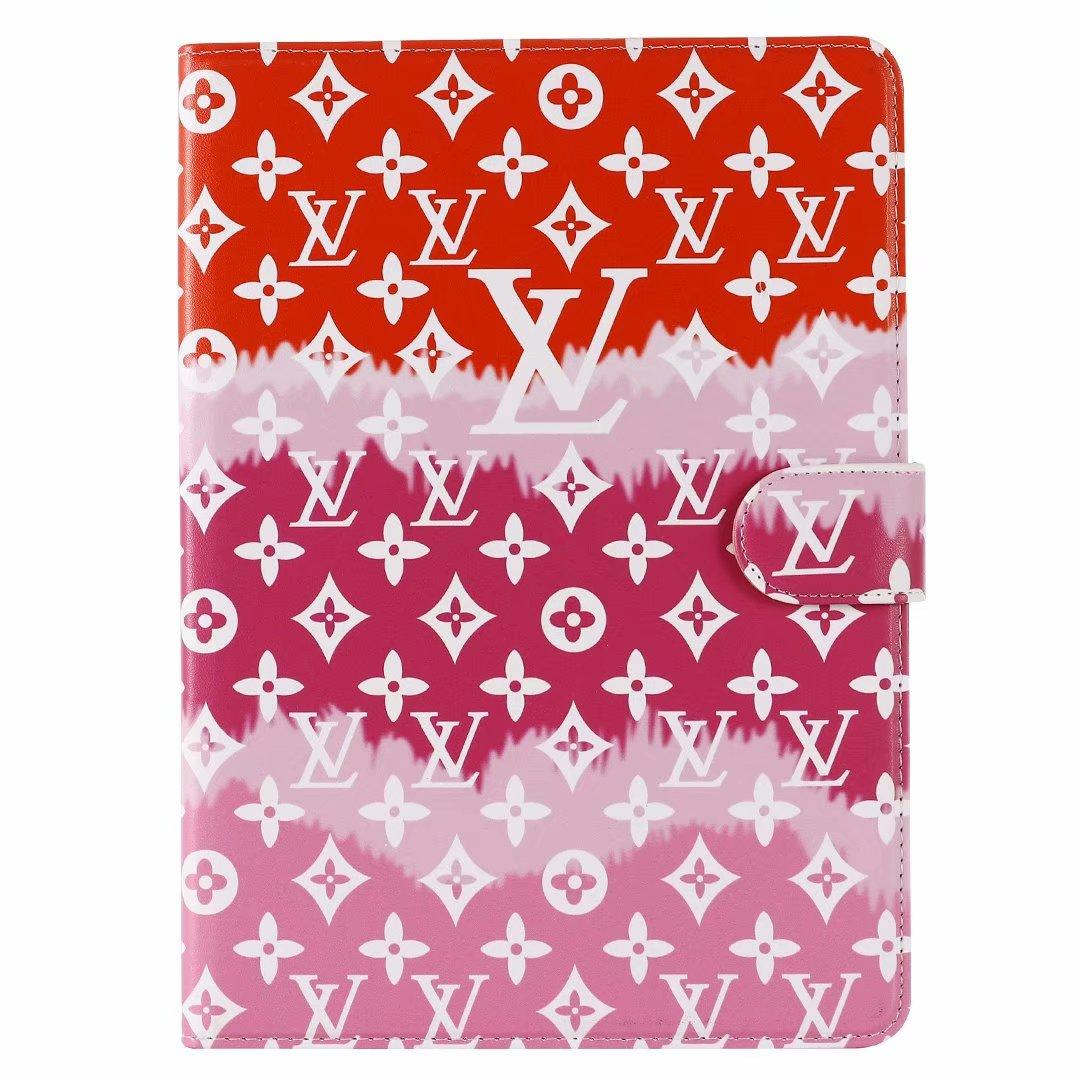 LV leather case with card for ipad 4 5 6 ipad mini 4 5 ipad Air ipad pro