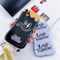 New Design LV Case IMD case for iphone 11 pro max xs max xr  7 8plus samsung
