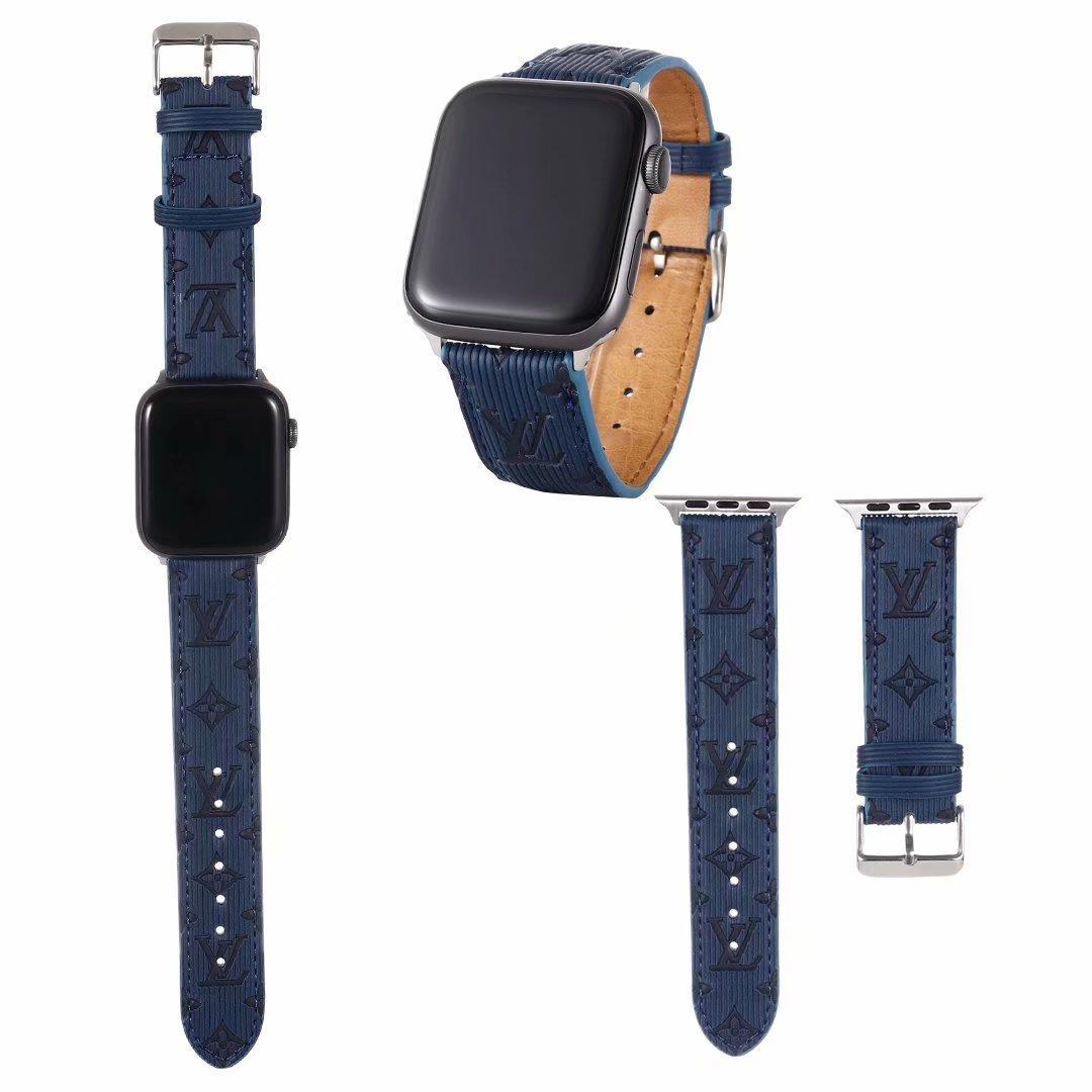 Brand belt for apple watch 38mm 40mm 42mm 44mm for All apple watch 8