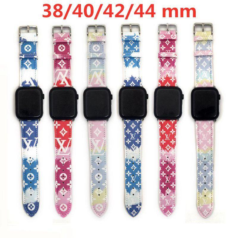 Brand belt for apple watch 38mm 40mm 42mm 44mm for All apple watch 1