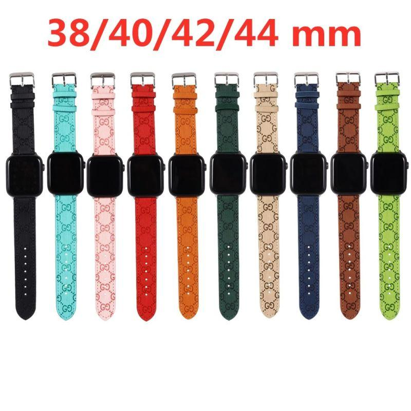 Brand belt for apple watch 38mm 40mm 42mm 44mm for All apple watch 6
