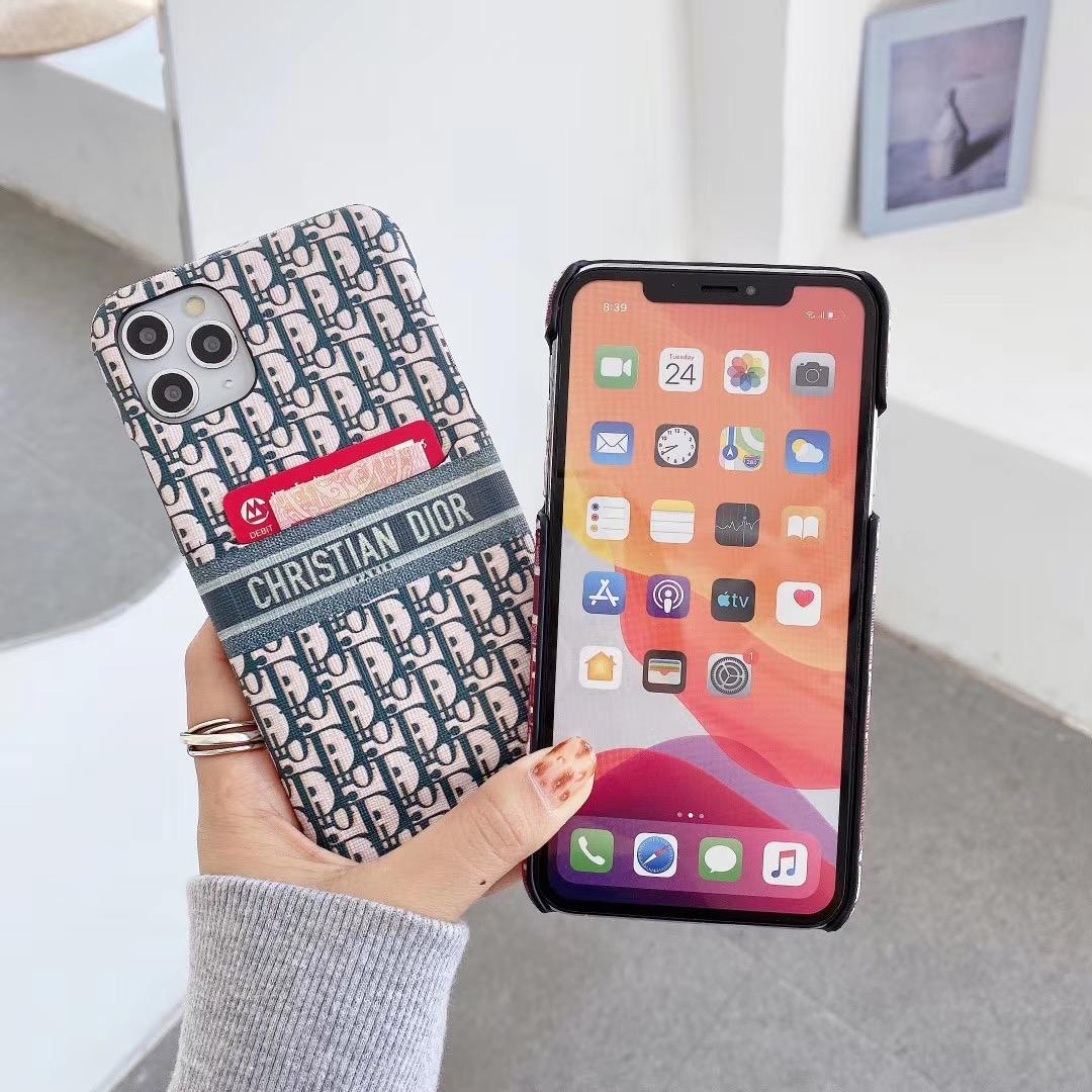 Luxury Brand case card  for iphone 12 pro max 12 mini 11 pro max  xs max 7 8plus 8