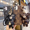 LV case with Pendant for iphone 12 pro max 12 mini 11 pro max xs max 7 8plus