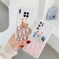 Dior case with card for iphone 12 pro max 12 pro 12 mini 11 pro max xs max 7 8
