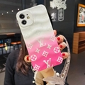 Beautiful clear case with belt for iphone 12 pro max xs max xr 11 pro max 8 plus 3
