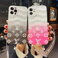 Beautiful clear case with belt for iphone 12 pro max xs max xr 11 pro max 8 plus 9
