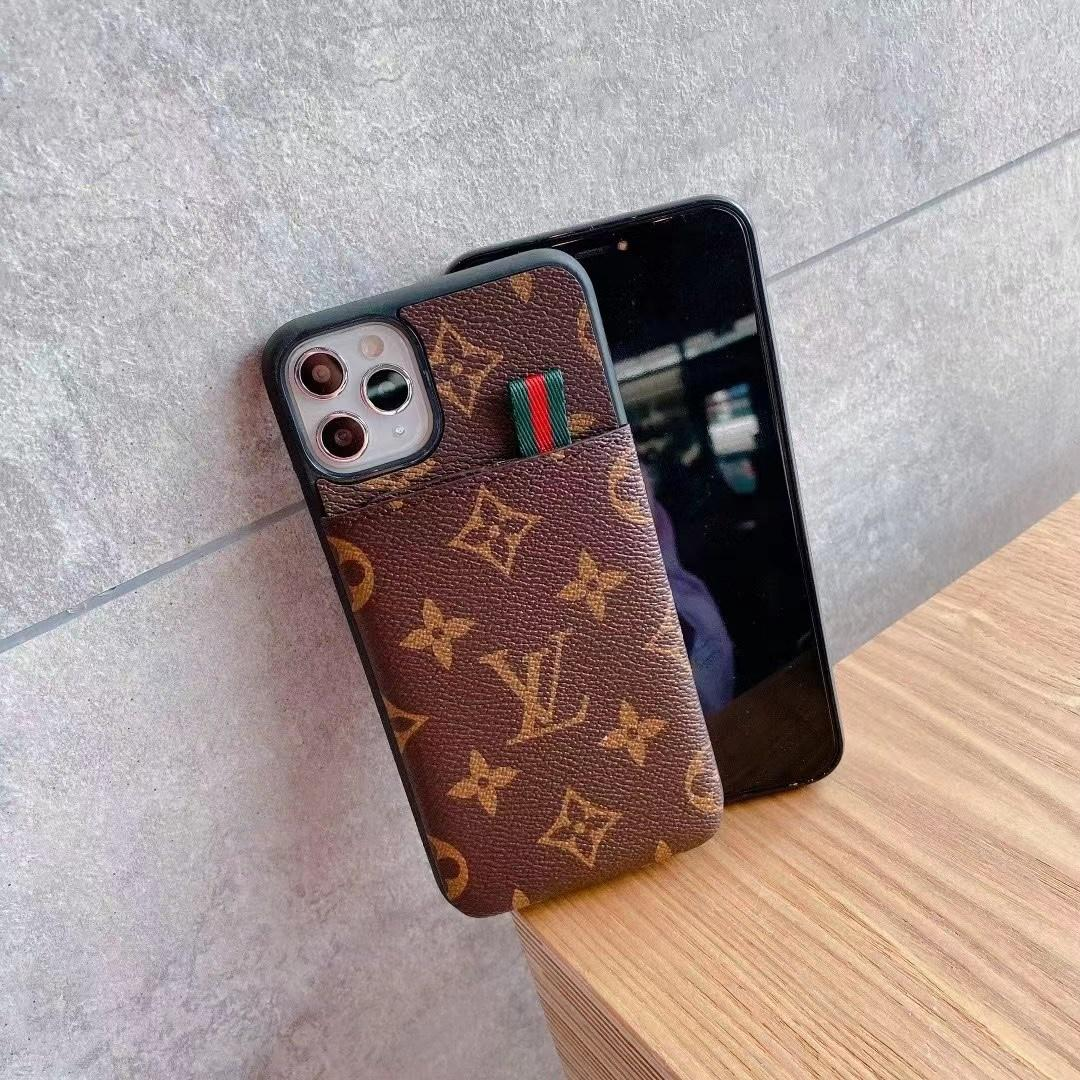 New brand    case with wallet for iphone 12 pro max xs max xr 11 pro max 8 plus 2