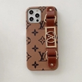 LV phone case with belt and logo for iphone 12 pro max xs max xr 11 pro max 8