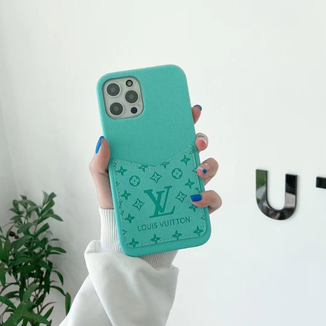 phone case with card and logo for iphone 12 pro max xs max xr 11 pro max 8 4