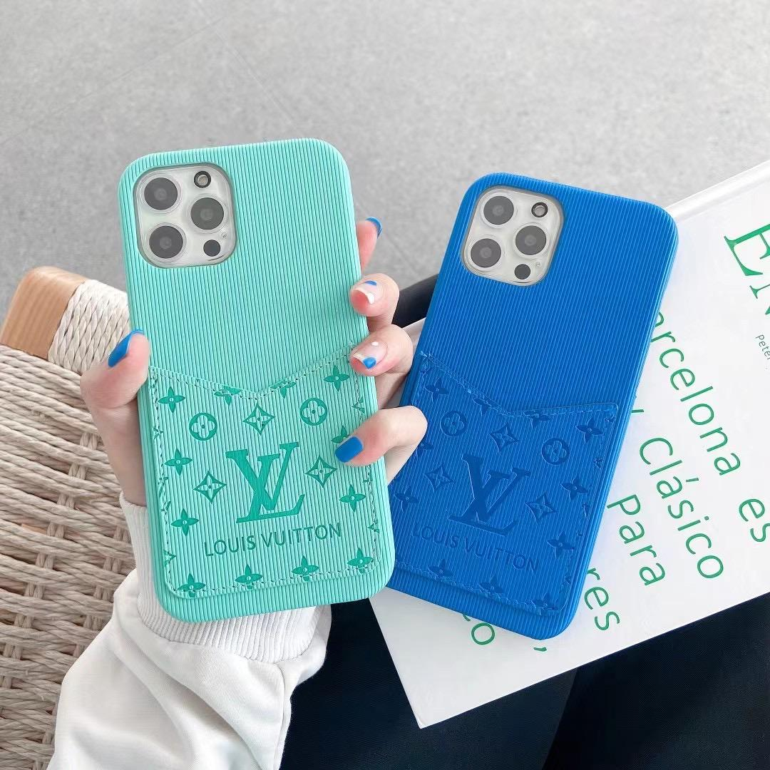 phone case with card and logo for iphone 12 pro max xs max xr 11 pro max 8 6